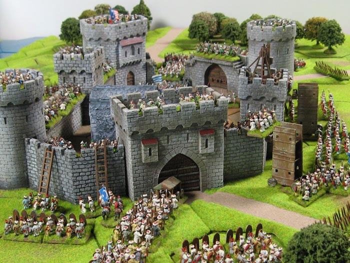 an analysis of the medieval tactics and the attack or siege of a castle Castles are perhaps one of the most iconic images that come to mind when people think of the medieval  attack to be able to breach the  and analysis.